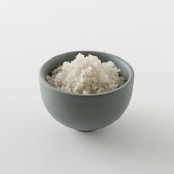 Intérieur d'un paquet de gros sel gris de Guérande 1kg