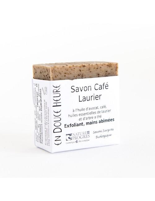 Savon café laurier bio blog de 100g