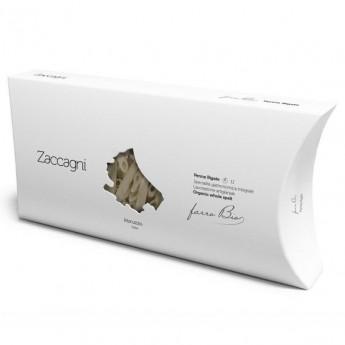 penne rigate épeautre complet bio 500g Zaccagni de fabrication artisanale détail du paquet