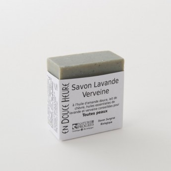 savon bloc de 100g lavande verveine
