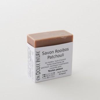 bloc de savon rooibos patchouli