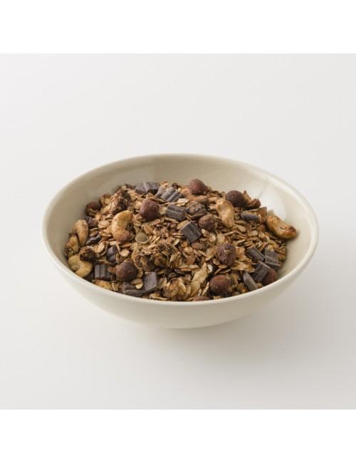 L'irrésistible muesli chocolat noisette bio