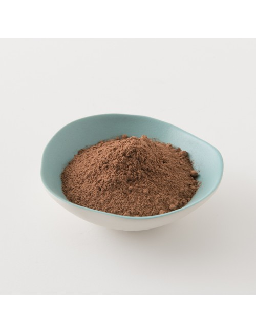 intérieur paquet cacao en poudre pur