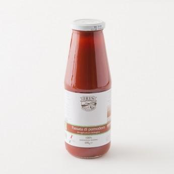 bouteille de 690g purée de tomate passata