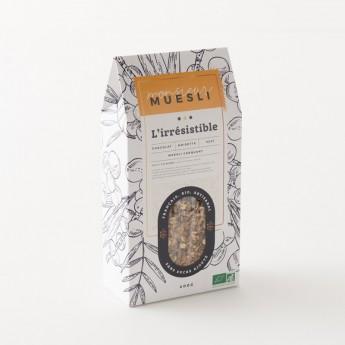Paquet zéro déchets du muesli chocolat noisette