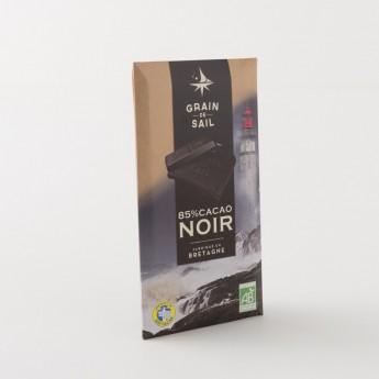 tablette chocolat noir bio 85%