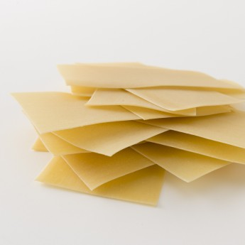 Détails des feuilles de lasagnes IRIS BIO