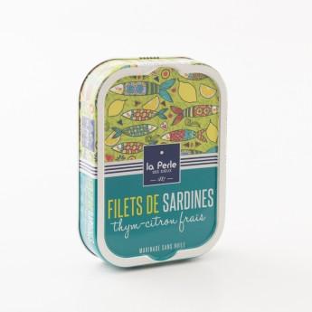 boite de sardine thym citron la perle des dieux