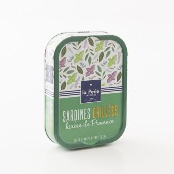 sardine grillées herbes de Provence la perle des dieux