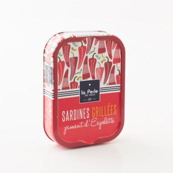 sardine grillée piment d'Espelette la perle des dieux
