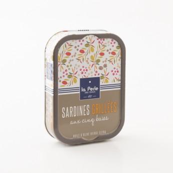 sardines grillées aux 5 baies la perle des dieux