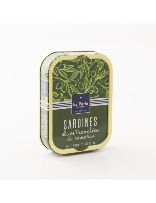 sardines à l'olive et au romarin la perle des dieux