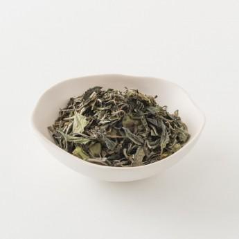 Intérieur d'un paquet de thé au jasmin de 100g