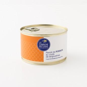 Boite de ravioli de thon à la langoustine la compagnie bretonne