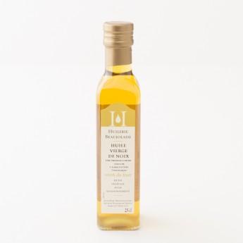bouteille d'huile de noix 25cl huilerie beaujolaise