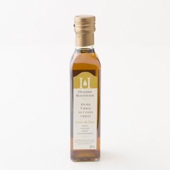 bouteille d'huile de colza 25cl huilerie beaujolaise