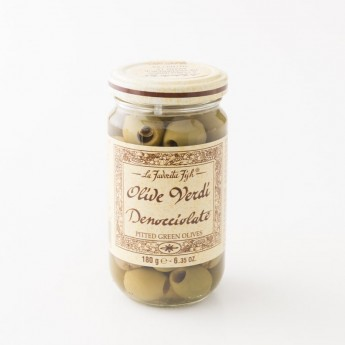 pot d'olives vertes la Favorita 180g