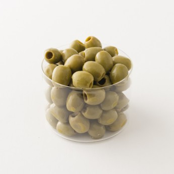 Olives vertes la favorita fish Italie