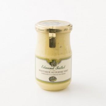 pot de moutarde au poivre vert fallot