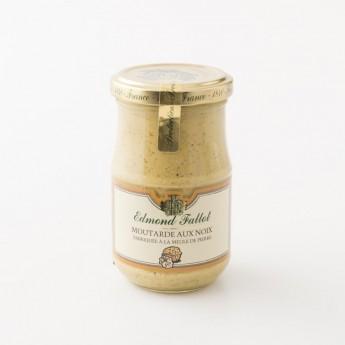 pot de moutarde aux noix à l'ancienne fallot