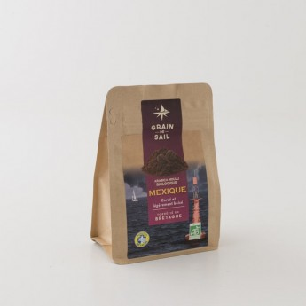 café du mexique moulu grain de sail bio