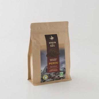 Café Pérou moulu grain de sail