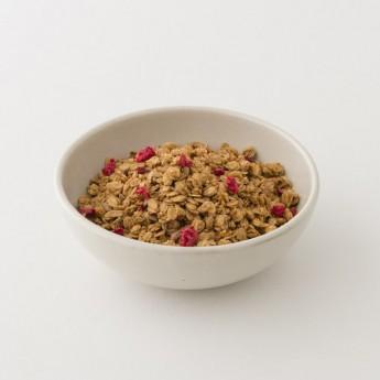granola citron framboise en vrac 100g nu morning