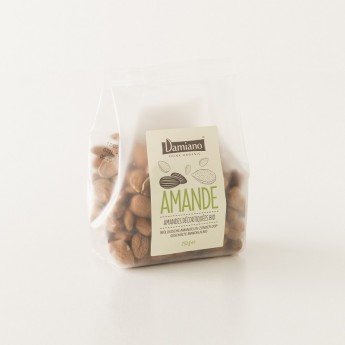 Paquet d'amandes natures 250g Damiano