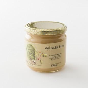 miel toutes fleurs en pot de 500 g