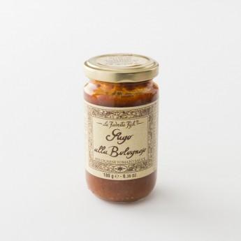 sauce tomate bolognaise artisanale pot 180 g de chez La Favorita