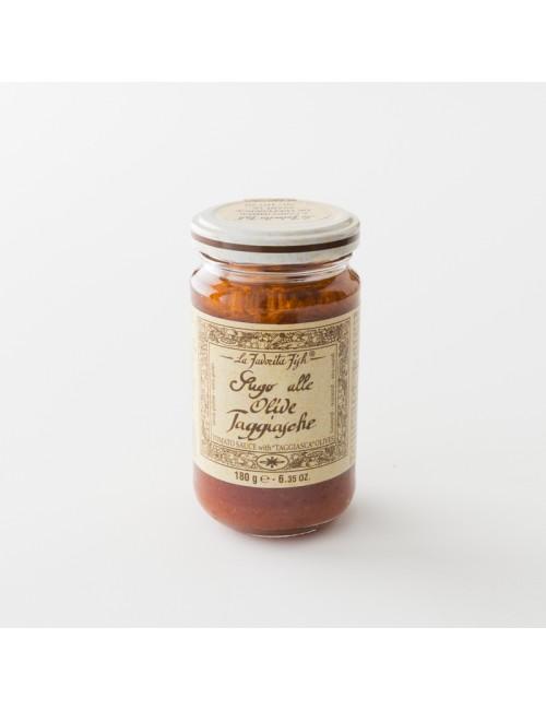 sauce tomate aux olives La Favorita en pot de 180 g
