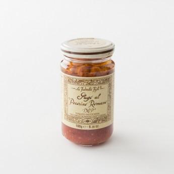 sauce tomate artisanale au fromage pot 180 g de chez La Favorita