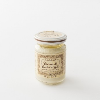 Crème à l'artichaut et à l'ail pot 130 g par la Favorita