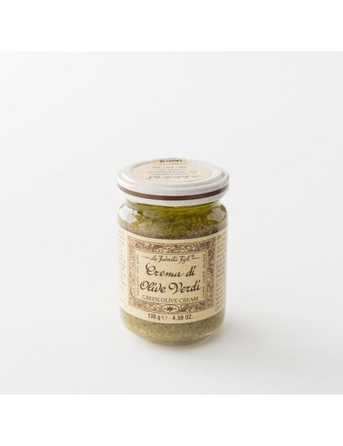 tapenade olives vertes pot en pot de 130 g par La Favorita