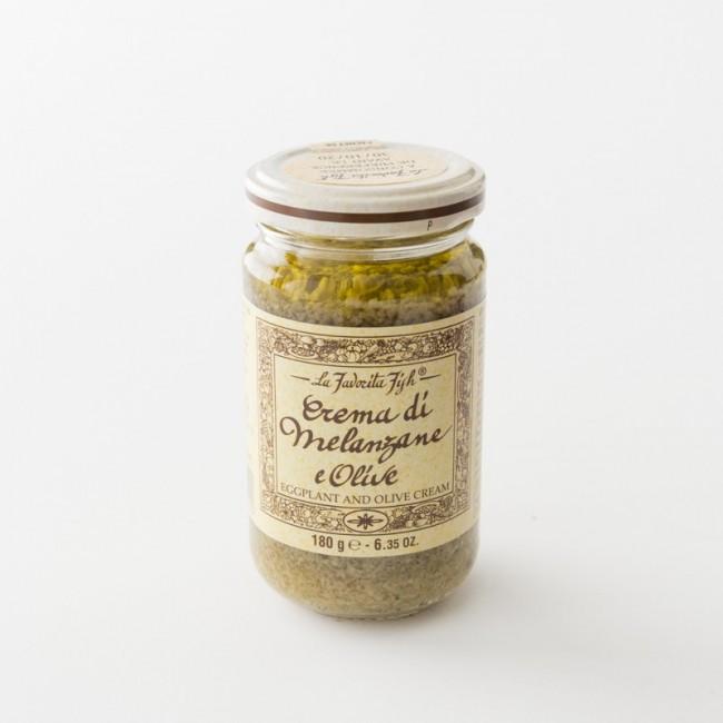 tapenade aubergine olive en pot de 180 g par La Favorita