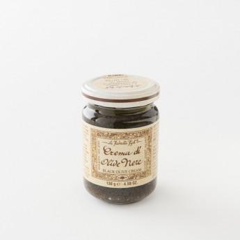 crème tapenade d'olives noires pot 130 g de chez La Favorita