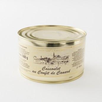 cassoulet de Castelnaudary au confit de canard 1480 g