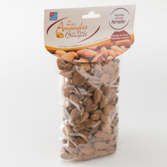 amandes nature type Ferrastar en paquet de 500 g de chez Amandes du Mont Bouquet