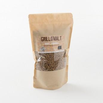 Malt torréfié en grains bio Grillomalt paquet de 400 g
