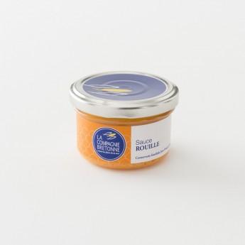 rouille pour soupe de poisson en pot de 90 g par la Compagnie Bretonne