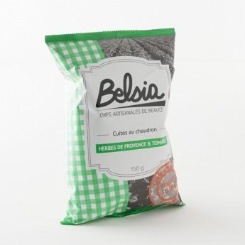 chips artisanales aux herbes de Provence 100% fabriquées en Beauce par Belsia
