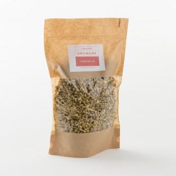 tisane de camomille en paquet de 100 g de chez Alveus