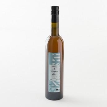 Vinaigre de Cidre vieilli en fût de chêne présenté en bouteille de 0.5l