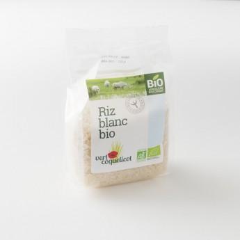 riz blanc bio  de Camargue: le paquet de 500 g
