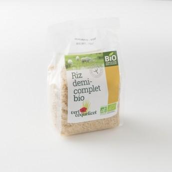 riz demi-complet bio IGP de Camargue: le paquet de 500 g