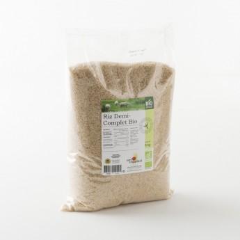 riz demi-complet bio IGP de Camargue: le sac de 5 kg
