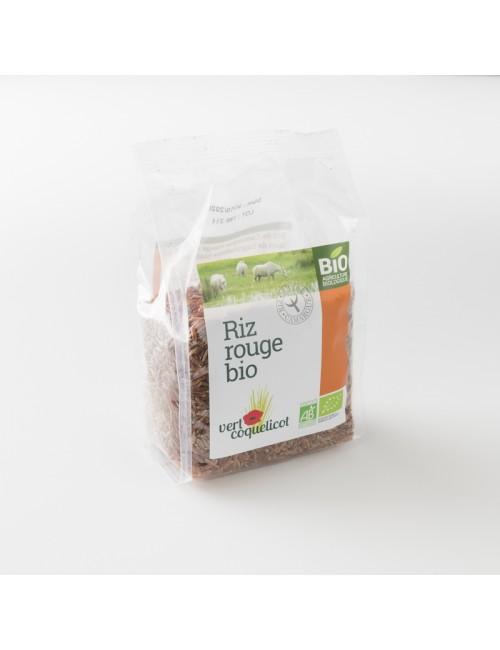 riz rouge bio de Camargue: le paquet de 500 g