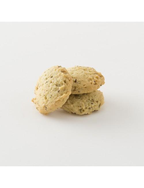 biscuits bio au thym et au romarin en paquet de 80 g
