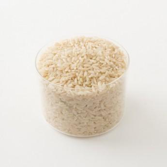 Détail du riz semi-complet de Camargue bio.