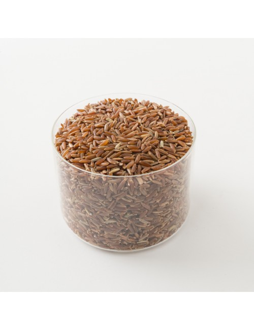 Véritable riz rouge de Camargue Bio.